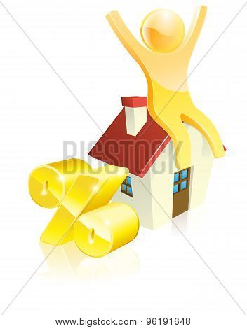 Mascot House Percent Concept