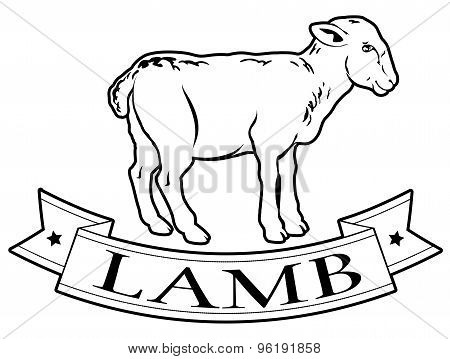 Lamb Food Label