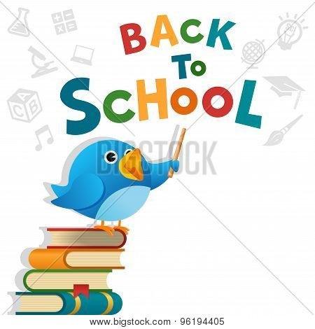 Blue Bird Back To School