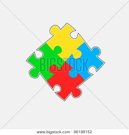 Puzzle parts