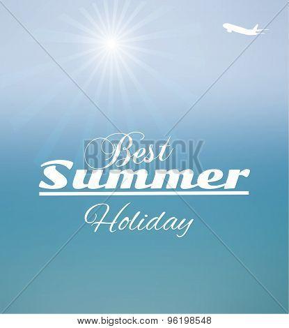 Summer Blurred Seascape
