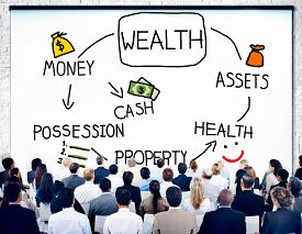stock photo of possession  - Wealth Money Possession Investment Growth Concept - JPG