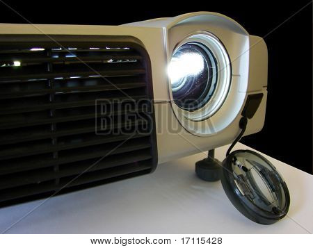 Working LCD projector
