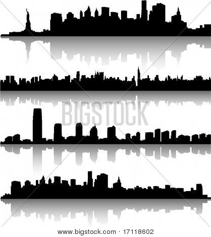 New York City-skylines