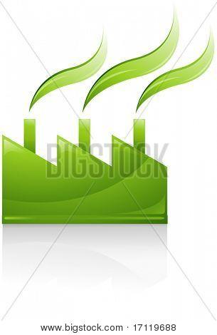 Green vector symbol