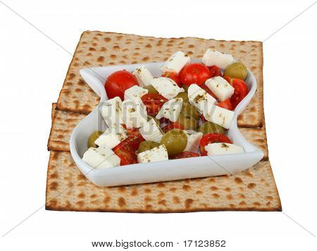 Matza And Salad