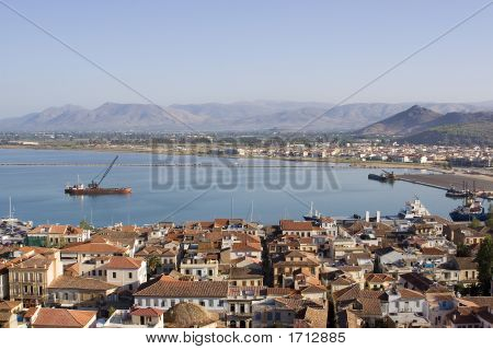 Nafplio Bay Greece
