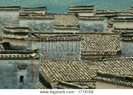 Chinese Tiles Roofs