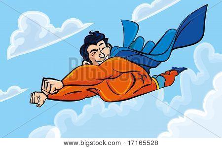 Cartoon Superman