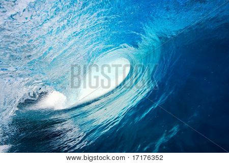 Perfect Blue Wave