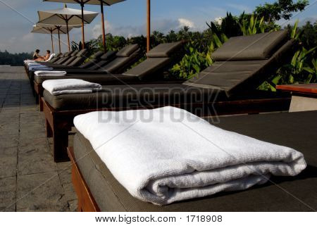 Pool Side Beach Towel