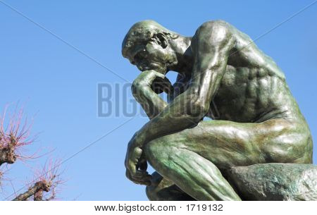 The Thinker In St Paul
