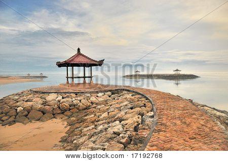 Gazebo on Beach in Bali