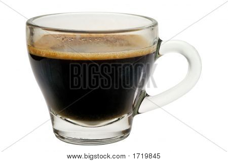 Coffee Cup - Cup Of Coffee With Clipping Path
