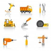 stock photo of tape-measure  - building icons - JPG