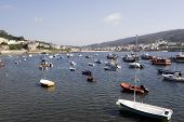 Fishing Boats Atlantic Coast Galicia Spain