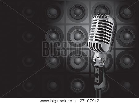 Music Event (editable vector). In the gallery also available XXL jpeg image made from this vector