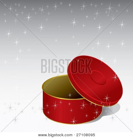 Gift Box (vector). In the gallery also available XXL jpeg image made from this vector