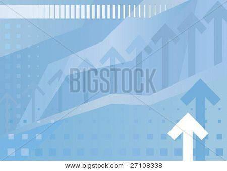 abbildung abstrakt Business Hintergrund (auch verfügbar Vektor Version dieses Bildes in unserer Galerie)