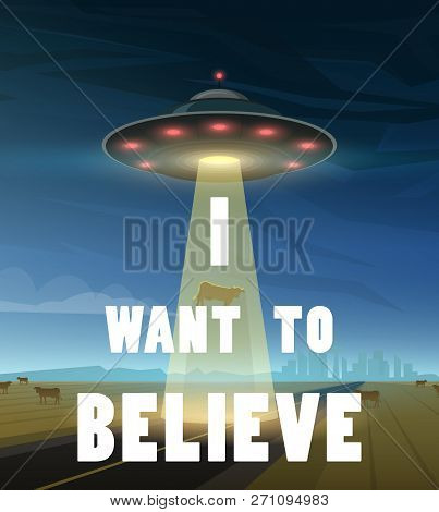 Ufo Or Flying Saucer In