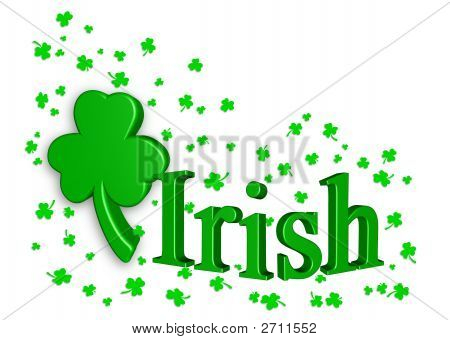 Irish Shamrock Logo