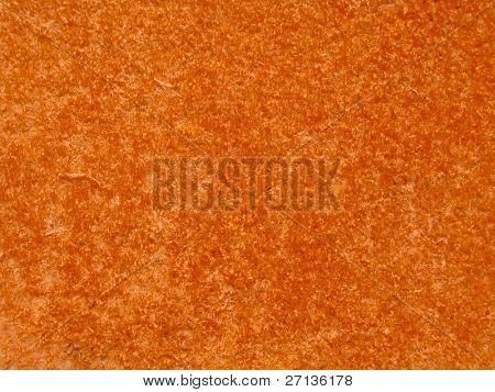 orange underwater bacteria background