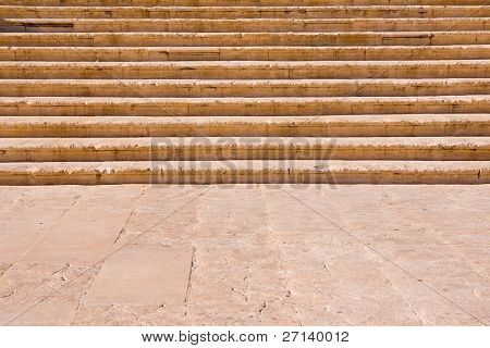 a close-up of a stone staircase