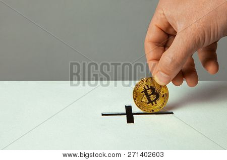 Man Puts Bitcoin Donation In