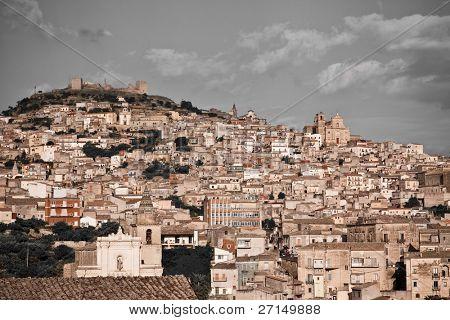 historic architecture of Agira, Sicily