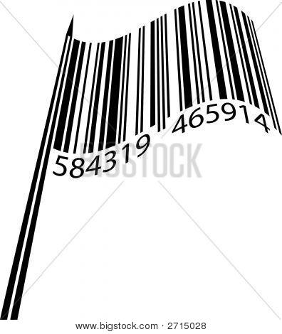 Bandera de código de barras