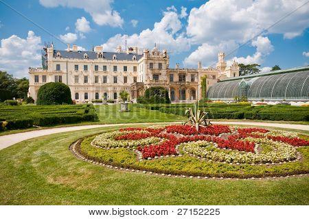 Lednice castle, Southern Moravia, Czech Republic