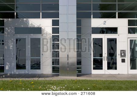 Two Corporate Doors