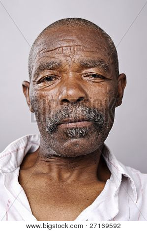Amazingly high detailed portrait of an African face, must see at full size.