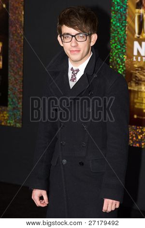 HOLLYWOOD, CA - DECEMBER 5: Actor Kevin McHale arrives at the premiere of