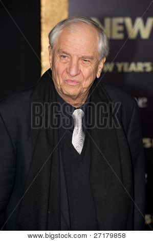 HOLLYWOOD, CA - DECEMBER 5: Director Garry Marshall arrives at the premiere of