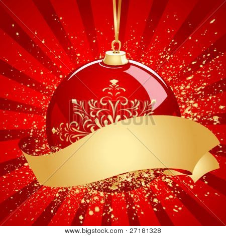 vector christmas background for design