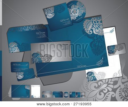 Vector template of identity set