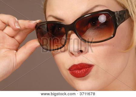 Pretty Girl In Sunglasses
