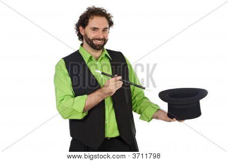 Retrato de um mágico