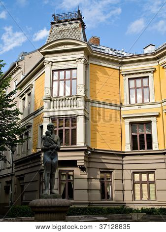 Classic 19Th Century Architecture In Oslo