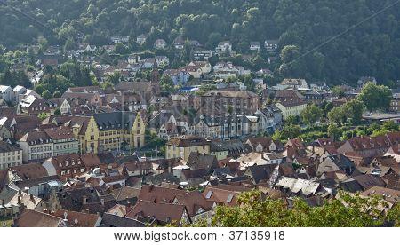 Wertheim Am Main Aerial View