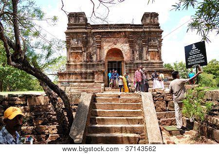 Polonnaruwa - October 16: The Polonnaruwa Ruins (ancient Sri Lanka's Capital) On October 16, 2011 In