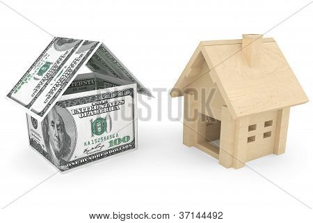 Dollars Banknotes House