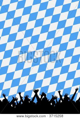 Bayerische Oktoberfest party