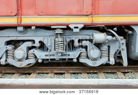 Wheels Of The Train