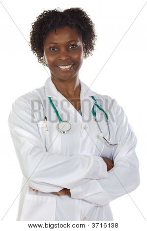 African American Woman Doctor