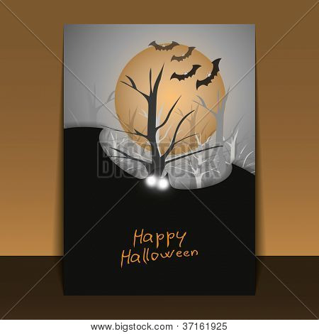 Halloween Flyer or Cover Design