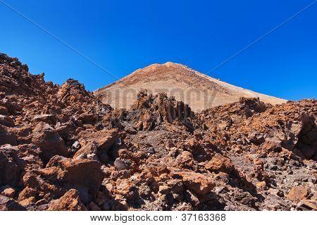 Vulcão Teide, na ilha de Tenerife - Canárias, Espanha