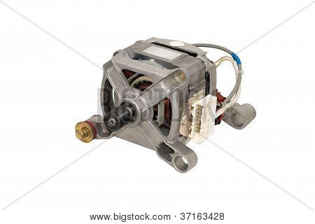 Electric motor from a washing machine.