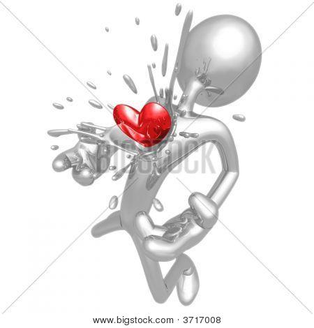 Explosión de corazón